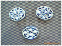 Noble rhinestone beads flower diy accessories