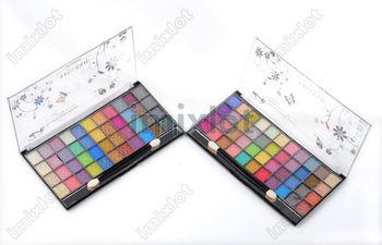 2013 New Free shipping 2pcs 44 Color Eyeshadow Cosmetics Mineral Make Up Makeup Eye Shadow Palette Kit Dropshipping