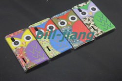 Cartoon Cute Owl OWLS Bird design Hard Back Cover Case For LG Optimus L5 E610 MOQ 1pc ship by china post(China (Mainland))