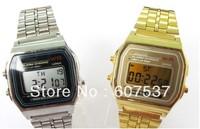 10pcs/lot F-91W watches f91 fashion -thin LED change F-91w photoelectron watches F 91 W sport watch