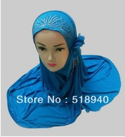 Long-term supply the Muslim hijab single piece Crystal Hemp  fashion hijab,Muslim headscarf and Muslim hijab for wholesale