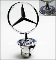 Car Badge Emblem BENZ 210 Benz Front Logo Badge Emblem Metal Free Shipping