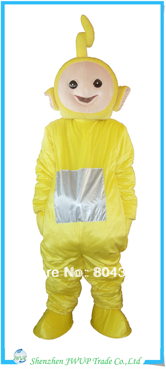 Newest lovely teletubby mascot costumes air mascot costume best quality mickey mouse mascot costume Free Shipping(China (Mainland))