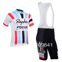 free shipping!new 2013 Focus team cycling short sleeve jersey and bib shorts,bicycle jersey,bike wear,cycle clothes