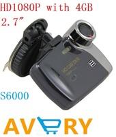 "free shipping wholesale 2.7"" FULL HD 1920*1080P Car DVR Motion Detection 4G Camcorder Vehicle Video Recorder Mini car DVR"