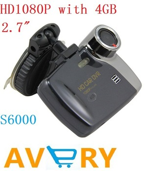 "free shipping wholesale 2.7"" FULL HD 1920*1080P Car DVR Motion Detection 4G Camcorder Vehicle Video Recorder Mini car DVR"