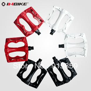 Free shipping Inbike bicycle pedal mountain bike foot aluminum alloy large slip-resistant belt foot