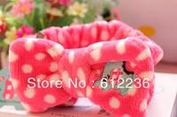 Super cute fresh mint elephant headband elephant bath / Makeup HEADBAND hair accessories hot selling dropship free shipping