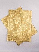 African Fabric Sego Headtie 2 Yards Bronze ht0358_10