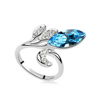Austria Crytal Rings for Women Crystal Rings Whole Sale Free Shipping