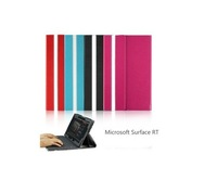 Free shipping+Special Offer!!! Colorful Flip PU Leather Case Cover Stand for Microsoft Surface Windows RT