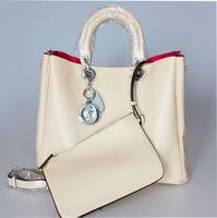 Free shipping 2013 women's handbag 100% high quality genuine leather fashion bags big messenger bag
