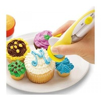 FREE SHIPPING!!! Frosting Deco Pen battery-powered Cupcake Decorators CakeDecorating Tools