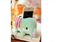 Cute Elephant Cell Phone Holder support for iphone4/4S Best  Xmas Gift mobile phone supplieshot selling dropship free shipping