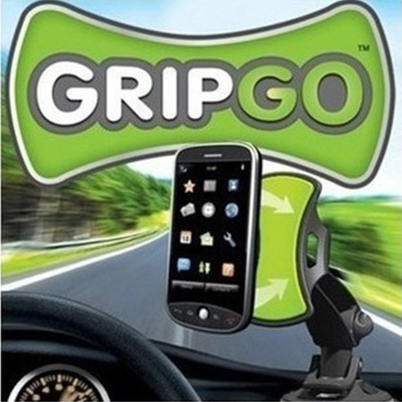 GripGo Grip Go Windshield Universal Mini 5pcs/lot Car Mobile Phone GPS Mount Holder 360 Degree Rotating Free Shipping(China (Mainland))