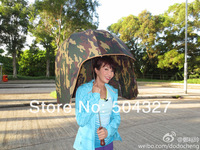 Free shipping 1Piece Novelty Umbrella Helmet Shaped Umbrella - Geek on your way !