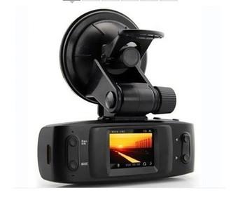 Freeshipping Night Vision 4 IR CPU NO GPS logger G-sensor,GS1000 Car DVR with Full HD1280*720P Accident Camera,Vihice camera