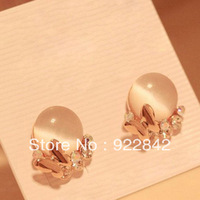 accessories elegant crystal butterfly cuicanduomu - eye stud earring
