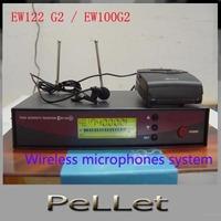 Professional EW122 G2 / EW100G2 Lapel Lavalier Clip mic Wireless microphones system,free shipping