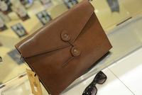 The new The fashion of England, wind female Clutch Wallet tide retro envelope briefcase Female computer bag