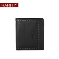 2013 fashion new Free Shipping  Brand Rarity 100% Genuine Leather men Wallet for man  purse Money Clip Black WRC0062