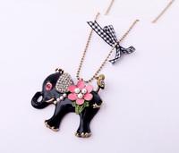 Fashion accessories flower women's design long necklace Factory Wholesale