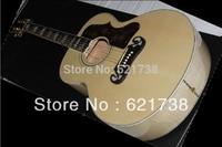 best Factory guitar 2011 j200 CUSTOM Artist Ebony fingerboard Acoustic Guitar in stock