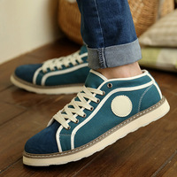 free shipping Shoes spring new arrival tidal current male casual canvas shoes fashion 2013 popular male shoes