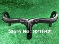 can DIY logo carbon bicycle Handlebar carbon bike Handlebar carbon road handlebar and Stem integrative 400/420/440&free shipping