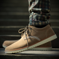 free shipping Shoes 2013 spring the trend of fashion male casual fashion suede popular men's