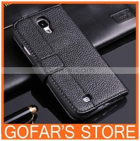 For Samsung Galaxy S4 i9500 High End Luxury Wallet Leather Case 50pcs/Lot