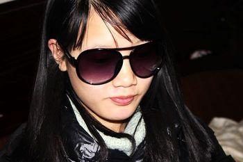Glasses non-mainstream double sunglasses men's classic brief women's sunglasses