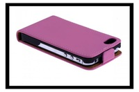 Matte Leather Flip Case Cover For iPhone 4G 4S with 7 colors + Free Shipping
