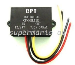 DC/DC converters Regulator Reducer 24V to 7.5V 5A 38W DC-DC power converters (DCCON-C7.5)(China (Mainland))