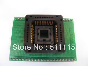 PLCC44 = DIP40 high-end bounce programming the adapter blocks / adapter / conversion Block(China (Mainland))