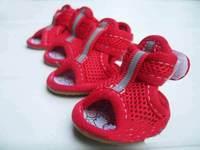 Pet Dog summer Gridding Shoes, Anti-skidding footwear, cool, Wholesale Free Shipping #9217