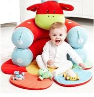 Baby Beanbag Portable dawdler sofa,Detachable Crib sofa play mat pad fleeces warm bed toy sofa Baby cradle bed
