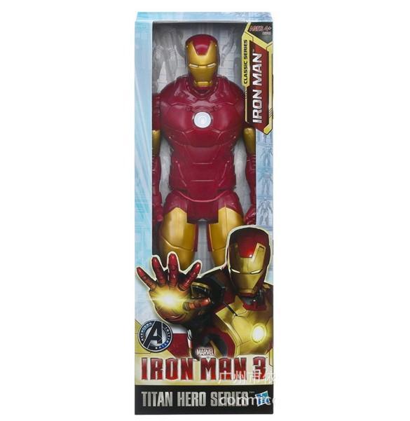 Гаджет  Free Shipping Iron Man Movie Spiderman 30CM PVC Iron Man Action Figures Action Toy Figures Retail Box None Игрушки и Хобби