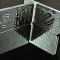 10 ounce zinc alloy plated 999 fine silver clad engelhard metal bullion bars wholesale 5pcs/lot free shipping(China (Mainland))