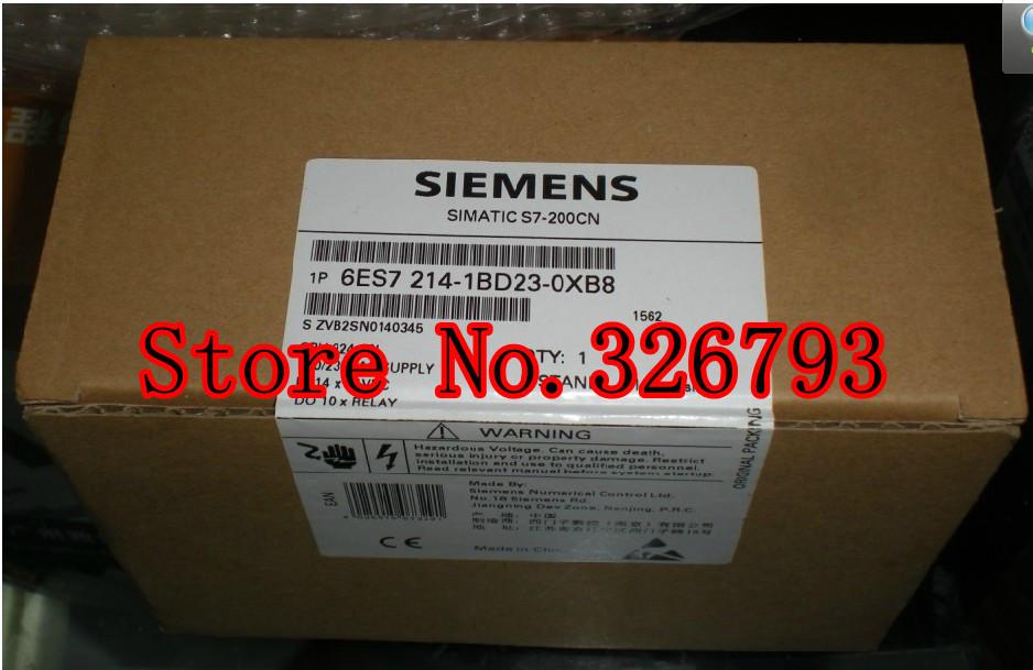 Wholesale New Original SIEMENS LOGO PLC S7-200 CPU224CN relay 6ES7 214-1BD23-0XB8/6ES7214-1BD23-0XB8/6ES7-214-1BD23-0XB8(China (Mainland))