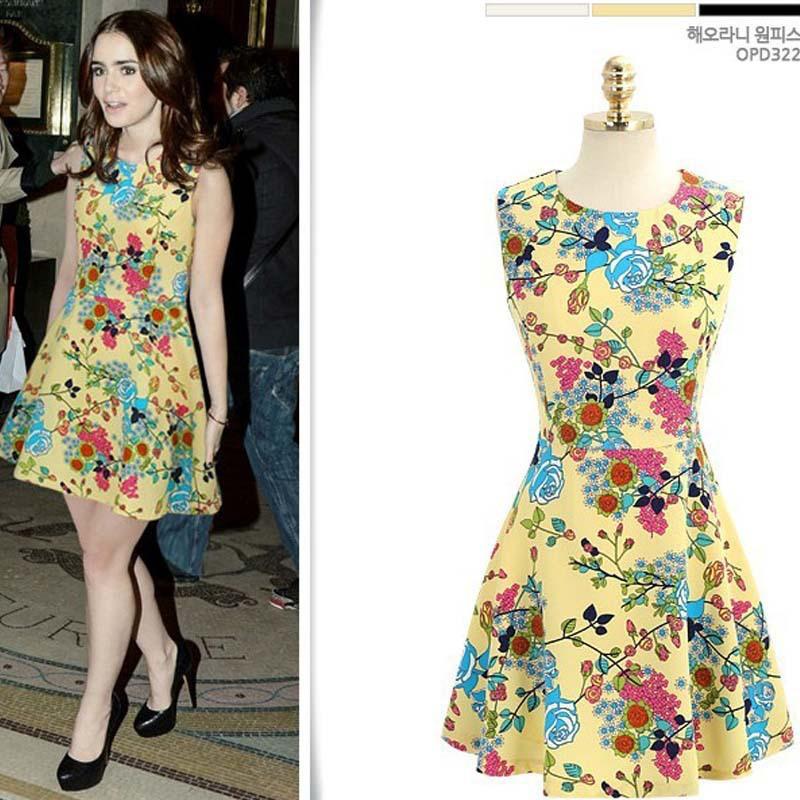 Wonderful Free Shipping Hot Fashion Dress Women 2013 Autumn Casual Dark Blue