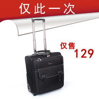 FREE SHIPPING Vintage trolley luggage trolley travel bag commercial small fashion luggage waterproof