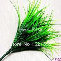 Artificial flower plastic flower artificial flower household rustic clover plants artificial grass  wholesale 10pcs/lot D8802