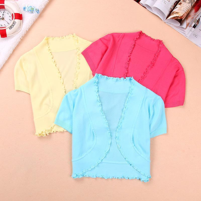 2013 Fashion Summer Lady&#39;s Pink Color Cotton Shrug Short-sleeve Cardigan,M-M0015,FREE SHIPPING(China (Mainland))