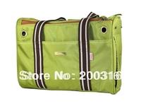 New arrival Green 1680D double-stranded nylon Pet Dogs Carrier Bag