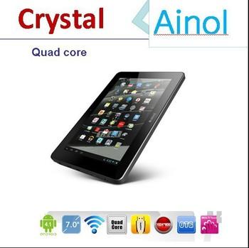 Surprised gift !7 inch Ainol NOVO7 Crystal Quad Core Tablet PC android 4.1 Dual camera 1GB RAM 8GB ROM WIFI HDMI