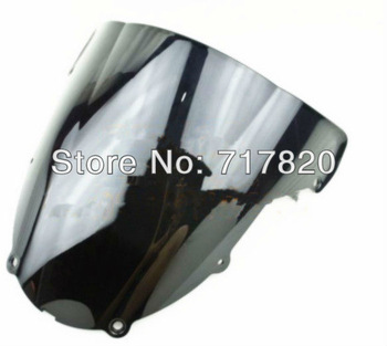 high quality motorcycle parts wind screen for KAWASAKI ZX6R 636 00-02 free shipping by HK POST