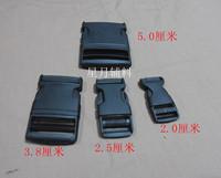 Ribbon buckle plastic 38 nylon cord lock backpack buckle school bag strap buckle