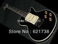 Factory black custom shop peter frampton signature electric guitar 3 pickups EMS free shipping