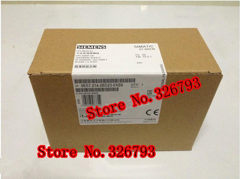 Wholesale New Original SIEMENS LOGO PLC CPU224XPCN 6ES7 214-2BD23-0XB8/6ES7214-2BD23-0XB8/6ES7-214-2BD23-0XB8(China (Mainland))